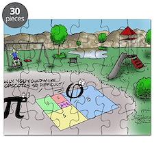 Pi_65 Fibonacci Hopscotch (10x10 Color) Puzzle