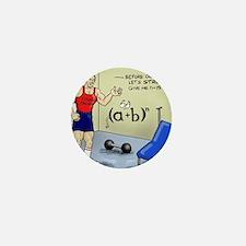 Pi_56 Math Stretches (7.5x4.5 Color) Mini Button