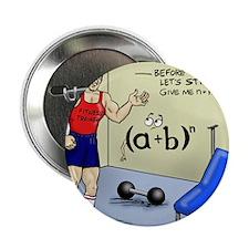 "Pi_56 Math Stretches (7.5x4.5 Color) 2.25"" Button"
