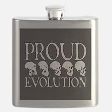skull goth square Flask