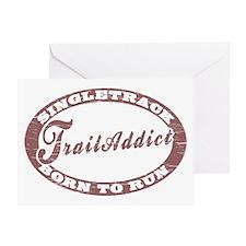 TraillAddict_Runner Greeting Card