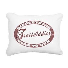 TraillAddict_Runner Rectangular Canvas Pillow