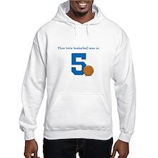Basketball Star Custom Age Jumper Hoody