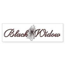 Black Widow Bumper Bumper Sticker