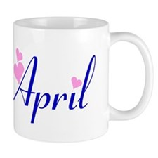 Miss April Small Mug