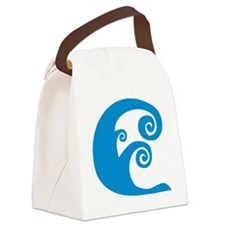 wave_2010 Canvas Lunch Bag
