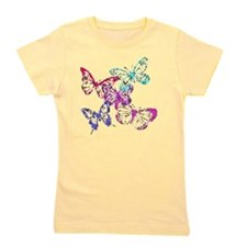 butterfliesupdated Girl's Tee
