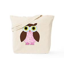 Its A Girl Owl Tote Bag