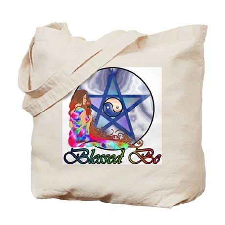 Blessed Be Invocation Tote Bag