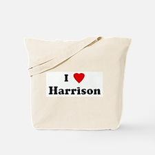 I Love Harrison Tote Bag