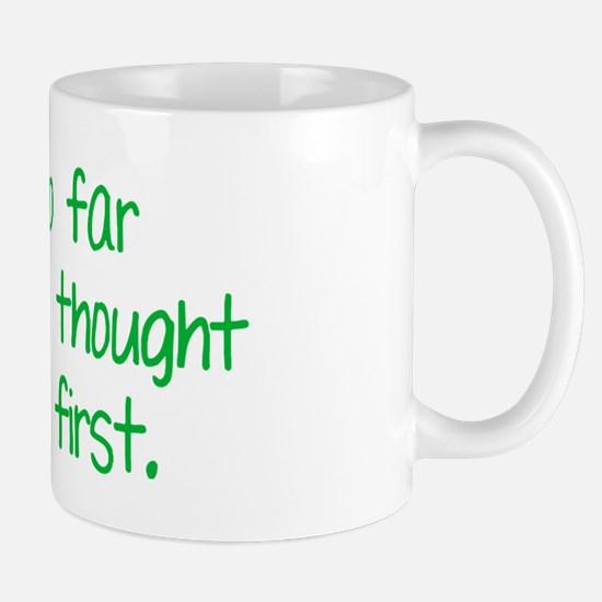 farbehindBTLEgreen Mug