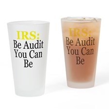 IRS2RNDblk Drinking Glass