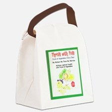 Thrive  With Five Canvas Lunch Bag