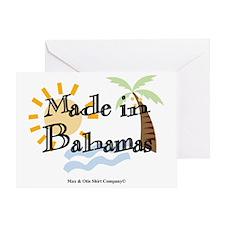 made-in-bahamas Greeting Card