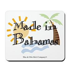 made-in-bahamas Mousepad