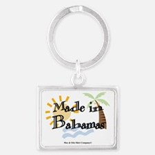 made-in-bahamas Landscape Keychain