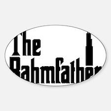 rahm-block Sticker (Oval)