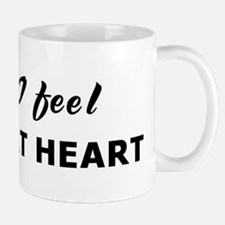 Today I feel young at heart Small Small Mug