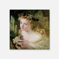 "Beautiful Fairy By Anderson Square Sticker 3"" x 3"""