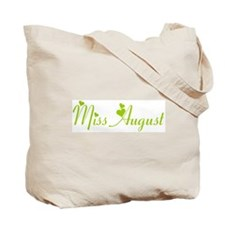 Miss August Tote Bag