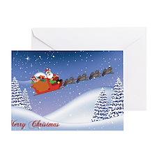santapuli Greeting Card