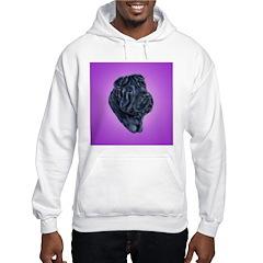 Black Shar Pei Hoodie