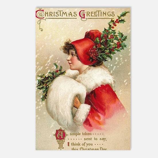 Greetings Postcards (Package of 8)