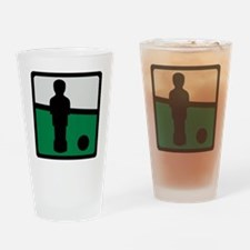 football_table_pic Drinking Glass