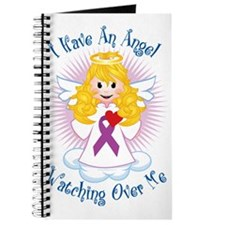 Angel-Watching-Over-Me-Purple-Ribbon Journal