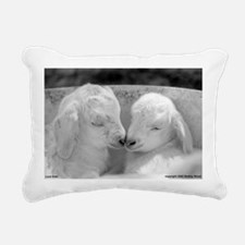Kids#27InvertedCroppedRe Rectangular Canvas Pillow