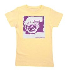 Purple Turbo Girl's Tee
