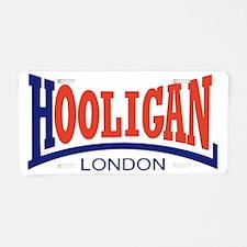 Hooligan_circle Aluminum License Plate