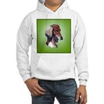 Saluki Hooded Sweatshirt