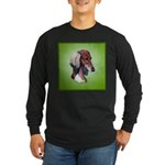 Saluki Long Sleeve Dark T-Shirt