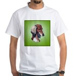 Saluki White T-Shirt