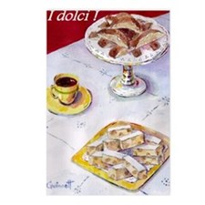 dolci. Postcards (Package of 8)