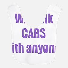 talk cars Bib