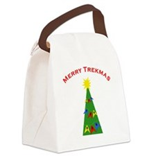 merry trekmas blanket2 Canvas Lunch Bag