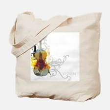 Violin Art 01 Tote Bag