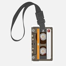 cassette tape vertical Luggage Tag