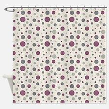 Hanover Dot Pattern Shower Curtain
