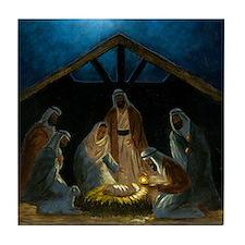 The Nativity Tile Coaster