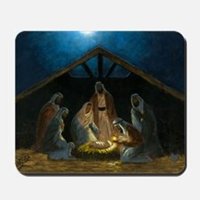 The Nativity Mousepad