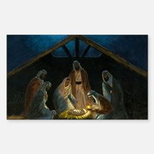 The Nativity Decal
