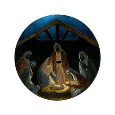 "The Nativity 3.5"" Button"