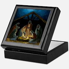 The Nativity Keepsake Box