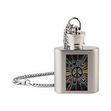 Blacklight41_iphone_case Flask Necklace