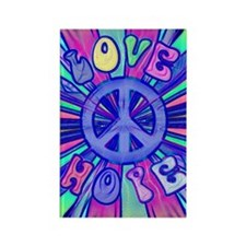 Blue love441_iphone_case Rectangle Magnet