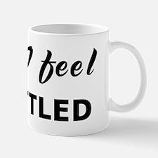 Today I feel unsettled Mug