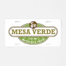Mesa Verde National Park Aluminum License Plate